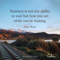 Patience quote from Calm Sad Love Quotes, Love Yourself Quotes, Great Quotes, Inspirational Quotes, Motivational, Calm Quotes, Mood Quotes, Mental Strength Quotes, Wisdom Quotes