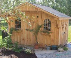 #112 8x12' Garden Shed