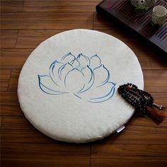 Round Lotus Zabuton
