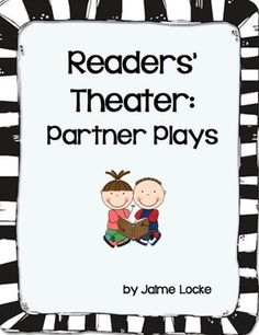 Literacy Readers Theatre on Pinterest | Readers Theater ...