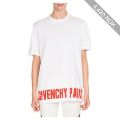Givenchy Paris Graphic Tee
