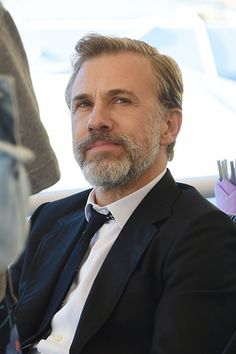 IWC photoshoot in Italy Christoph Waltz, Hans Landa, Water For Elephants, Most Handsome Actors, Favorite Movie Quotes, Young Actors, Gentleman Style, Man Crush, Hot Guys