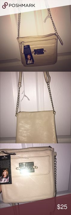 Brand new Nicole Miller cross body bag Brand new ivory with gold hardware cross body purse Nicole Miller Bags Crossbody Bags