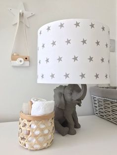Handmade to order to coordinate perfectly with our Stars range of bedding and baskets. They also team particularly well with our other ranges too! They measure 21cm high x 30cm diameter and can be used either as a ceiling pendant or on a table lamp. What type of lamp holder will this lampshade fit
