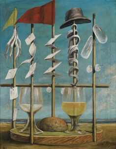 Untitled : Pierre Roy : Magic Realism : still life - Oil Painting Reproductions Max Ernst, Pierre Roy, Still Life Oil Painting, Magic Realism, Art Database, Oil Painting Reproductions, Surreal Art, Modern Art, Images