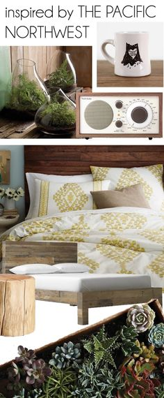cornflake dreams.: august houzz board - inspired by the pacific northwest.