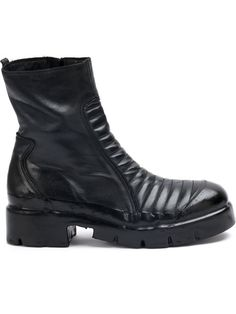Oxs Rubber Soul ribbed panel boots