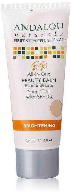 Andalou Naturals All in One Beauty Balm, Sheer Tint, SPF 30 || Skin Deep® Cosmetics Database | EWG