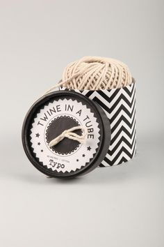 luxury twine in a box | CottonOn - such cute packaging! #design #packaging