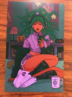 Jellyfish Painting, Jellyfish Drawing, Watercolor Jellyfish, Jellyfish Tattoo, Black Girl Art, Art Girl, Jellyfish Quotes, Jellyfish Facts, Jellyfish Tank