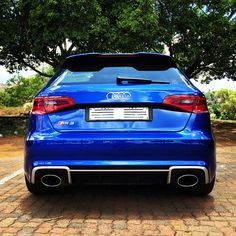 My 2016 Audi RS3 Sportback. Sepang Blue.