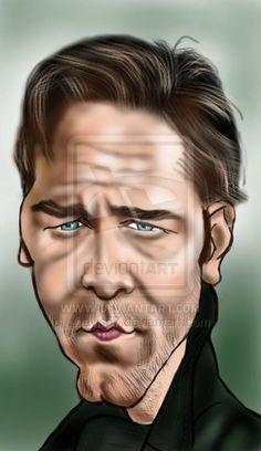 Russell Crowe by ~adavis57 on deviantART