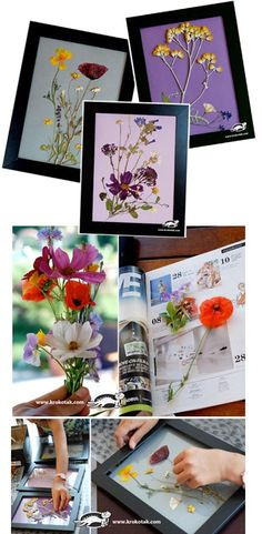 Take a look at this Pressed Flowers Idea by krokotak. Follow our board for more DIY tips, DuvetLife.com