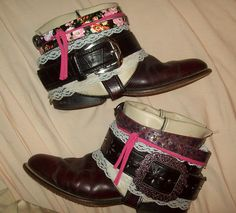 DIY boho boots.