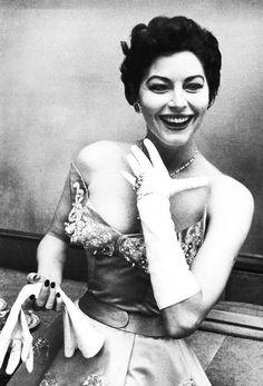 "gardnerandhayworth: "" Ava Gardner photographed by David Douglas Duncan, 1954. """