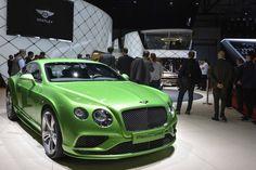 C'était annoncé, Bentley a débarqué au Salon de Genève avec la version mise à jour de la gamme Continental.