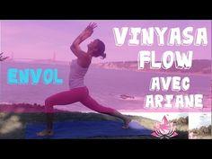 Vinyasa Yoga Intermédiaire - Flowy Flow avec Ariane (Part.2) - YouTube