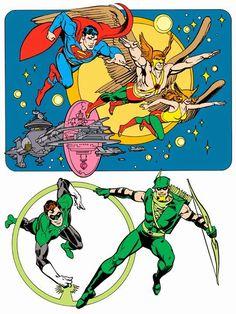 Justice League by José Luis García-López Dc Comics, Star Comics, Comic Book Artists, Comic Artist, Desenhos Hanna Barbera, Garcia Lopez, Batman Poster, Comic Art Community, Dc Characters