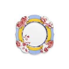 Serve breakfast in style with this stunning Royal Pip breakfast plate from Pip Studio. Uniquely shaped with elegant curved edges, it features a beautifully detailed border in a range of bright colo...
