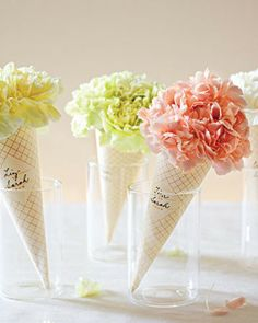 great vase idea for take home flowers