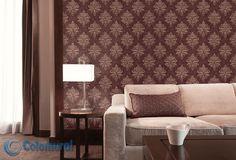 Tapetterminalen Galerie Vintage Damasks Easy Up Tapeter Easy Up, Damask Wallpaper, Decorating Your Home, Love Seat, Improve Yourself, Damasks, Elegant, Room, Vintage