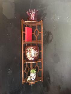 Another treasure found! Corner Wall Shelf  #greystonetreasures #buyanoriginal  http://greystonefinefurniture.com/products/corner-wall-shelf?utm_campaign=social_autopilot&utm_source=pin&utm_medium=pin