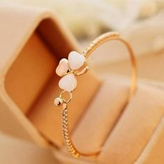 Shopo.in : Buy Peach Flower Bangle online at best price in Hyderabad, India