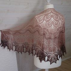 Ravelry: Alberta Shawl pattern by Anne-Lise Maigaard