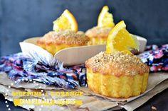Muffins orange - Muffins à l'orange et craquelin aux noisettes