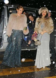 Tumanas Style Blog: Imágenes invitados a la boda Andrea Casiraghi y Tatiana Santo Domingo, 1 de febrero de 2014. Gstaad. Suiza
