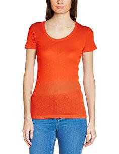 T Shirt Uni, V Neck, Amazon, Shirts, Tops, Women, Fashion, Round Collar, Sleeves