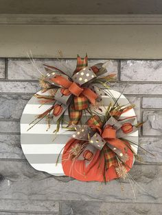 diy fall decor Excited to share this item from my shop: Christmas in july Fall door hanger, pumpkin door hanger, fall door hanger, halloween Thanksgiving Wreaths, Fall Wreaths, Thanksgiving Decorations, Halloween Decorations, Diy Fall Wreath, Fall Door Decorations For Home, Halloween Crafts To Sell, Fall Yard Decor, Thanksgiving Ideas