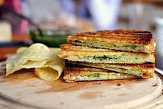 Pesto and Fontina Panini Grilled Cheese and next couple are different types of Grilled Cheese.  Enjoy pic #1