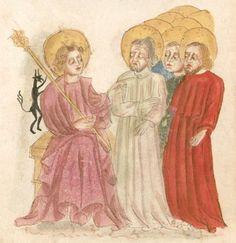 Weltchronik. Sibyllenweissagung. Antichrist  BSB Cgm 426, Bayern,  3. Viertel 15. Jh  Folio 124