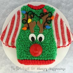 The Partiologist: Ugly Christmas Sweater Cake!