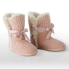 cute slipper boots