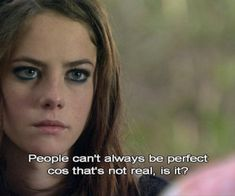 skins, Effy, and perfect image - Modern Tv Show Quotes, Film Quotes, Rock Roll, Skins Uk Quotes, Kathryn Prescott, Effy Stonem, Movies And Series, Tv Series, Kaya Scodelario