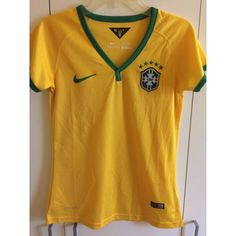 fff3347bfea casualisme Vintage Nike Brasil Soccer Jersey Brazil Football Shirt... ( 13)  ❤