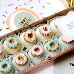You can win these amazing donut truffles by @sugarpopbakery alongwith some other fabulous party supplies Competition details at @doowopkids @paperplayground  #dontmissit  by ohitsperfect