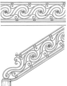 Stair Railing Designs ISR036
