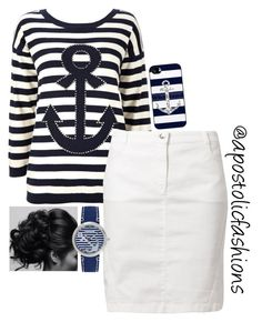 """""""Apostolic Fashions #1196"""" by apostolicfashions on Polyvore featuring Wallis, Betty Barclay and Sperry"""