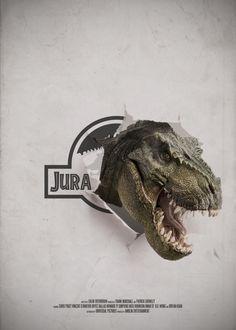 Day 113 of 365 – Jurassic Park. Michael Crichton, Jurassic World Wallpaper, Thriller, Science Fiction, Jurassic Movies, Poster Minimalista, Dinosaur Wallpaper, Amblin Entertainment, Lion King Art