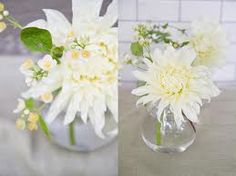 Love this white flowers arrangements