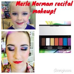 Recital makeup 2k14 by Shae at Merle Norman Orange Tx using #mnproeyecolorpalette  #merlenormancosmetics#recitalmakeup