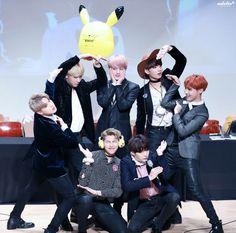 BTS at the Gimpo Fansign ❤ #BTS #방탄소년단