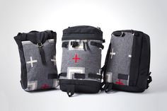 "Alpine luggage specialists Kletterwerks have teamed up with fellow American heritage brand Pendleton for a striking take on a range of everyday luggage options. The ""Market,"" ""Flip"" and ""Summit"" model..."