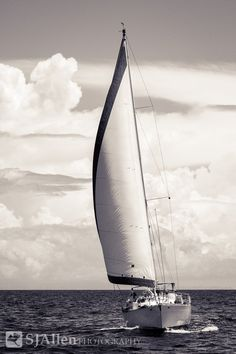 Smooth Sailing  8x10 or 16x20 Photograph by SJAllenPhotography, $27.00