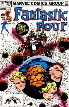 Fantastic Four # 253 by John Byrne