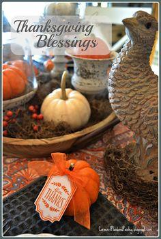 Thanksgiving Blessings - Blog Hop