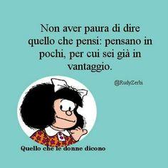 Come sempre Mafalda ha ragione!